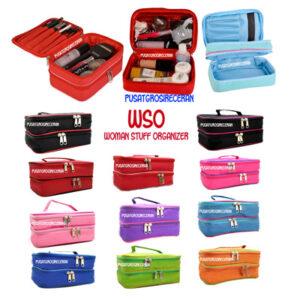 Woman Stuff Organizer (WSO) Tempat kosmetik/fancy susun