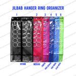 Paket Jilbab Organizer dengan Hanger Ring organizer - Random