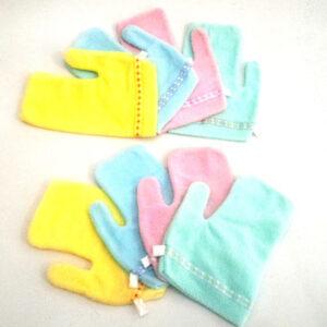 Washlap Jari Wash Lap Handuk Bayi Perlengkapan Mandi Bayi Peralatan